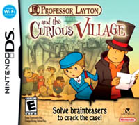 Professor Layton and The Curious Village - cover