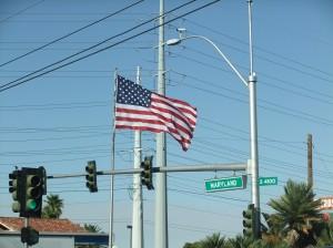 las_vegas_drapeau_americain